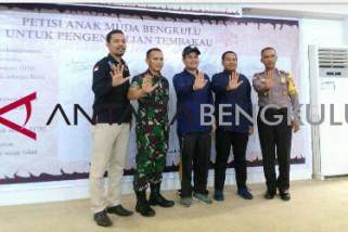 Sambut Wonderful Bengkulu 2020, Warrior FCTC berkomitmen SDM Bengkulu berkualitas tanpa rokok