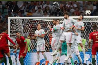 Petaka gol menit terakhir di Piala Dunia 2018
