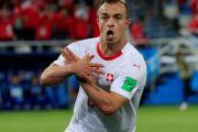 FIFA selidiki selebrasi gol Shaqiri dan Xhaka