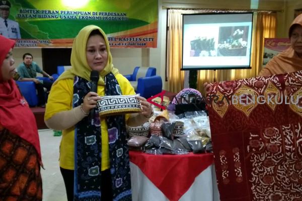 Perempuan didorong kembangkan ekonomi kreatif entaskan kemiskinan