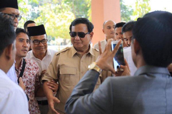 Prabowo undang pimpinan koalisi finalisasi tim pemenangan