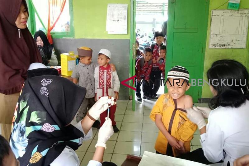 Vaksinasi MR di Kota Bengkulu targetkan 95 persen