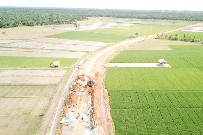 Baru 50,6 hektare lahan di Mukomuko dicetak jadi sawah