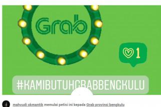Dishub Bengkulu  Manajemen Grab masih urus perizinan
