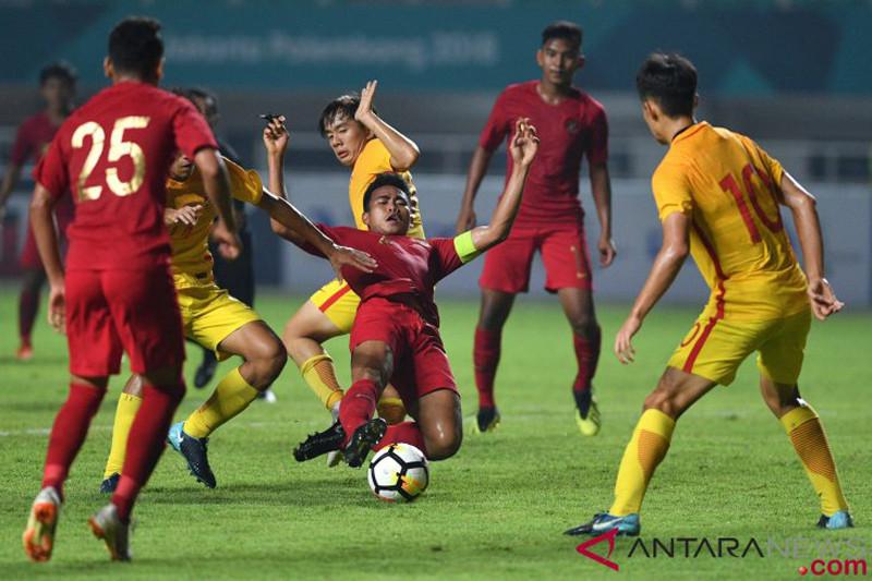 Timnas U-19 Indonesia menyerah dari China