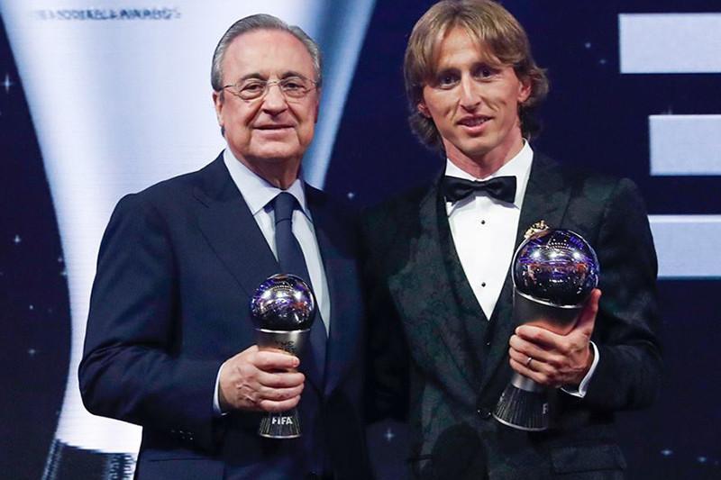 Modric pemain terbaik FIFA 2018