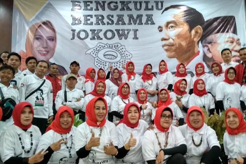 Relawan Bengkulu galang massa menangkan Jokowi-Ma