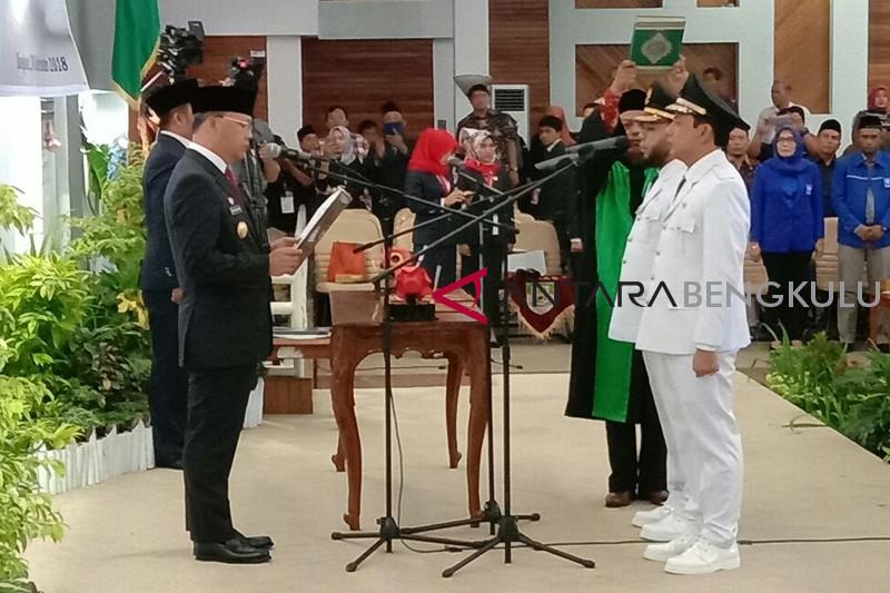 Gubernur Rohidin lantik Wali Kota Bengkulu