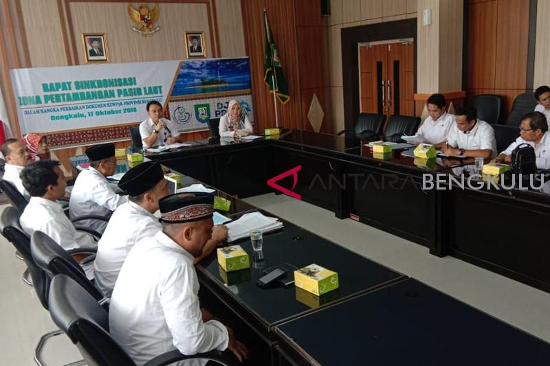 Pemprov Bengkulu kaji dokumen tata ruang laut