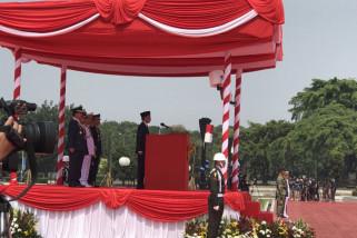 Presiden pimpin upacara HUT TNI