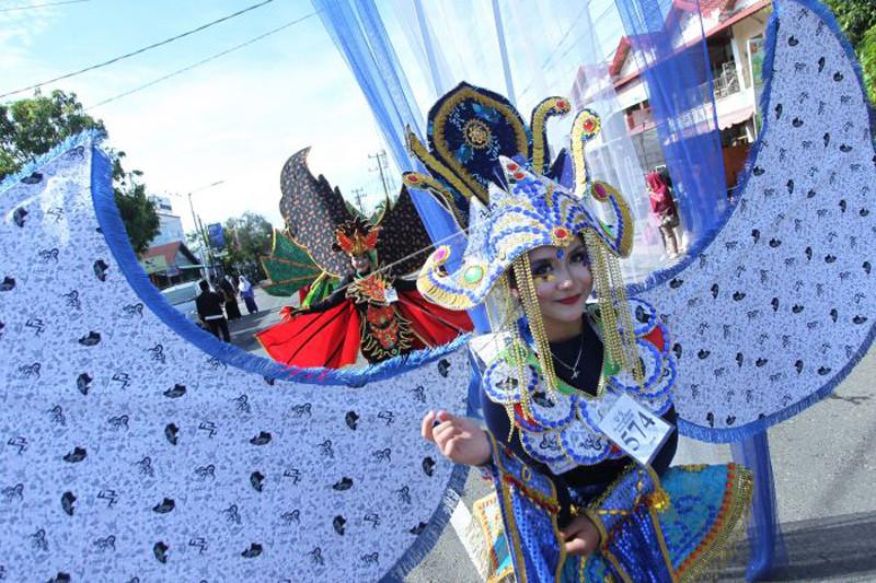 Karnaval batik besurek Bengkulu dipromosikan ke Kemenpar