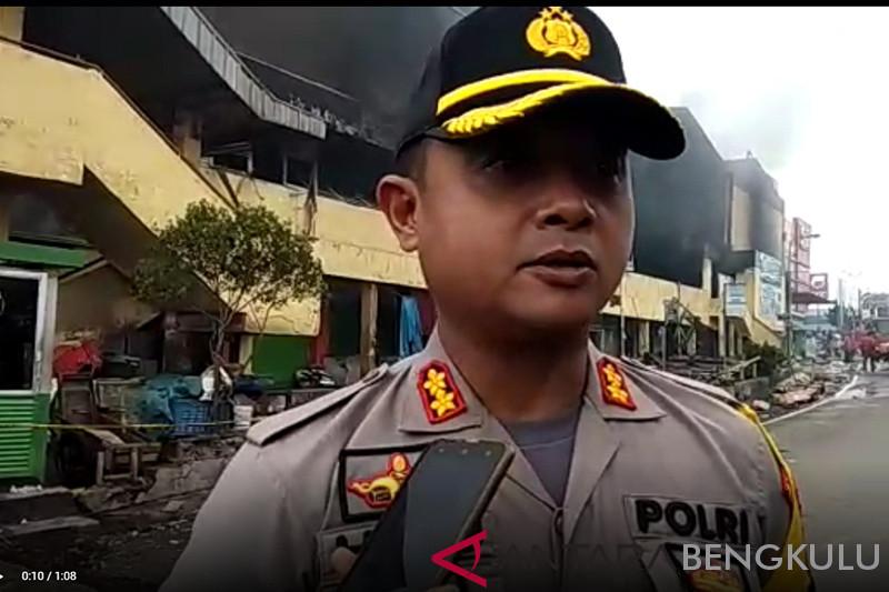 Kerugian kebakaran PTM Bengkulu diperkirakan Rp75 miliar