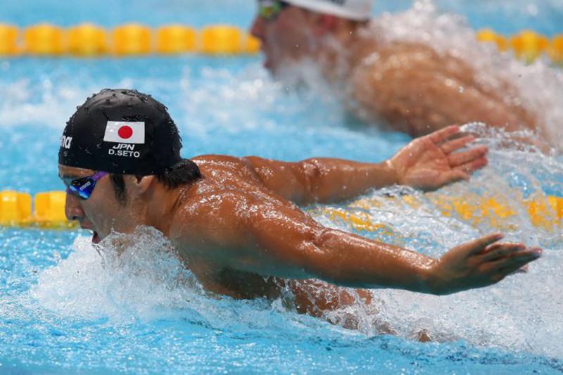 Perenang Jepang pecahkan rekor dunia di China