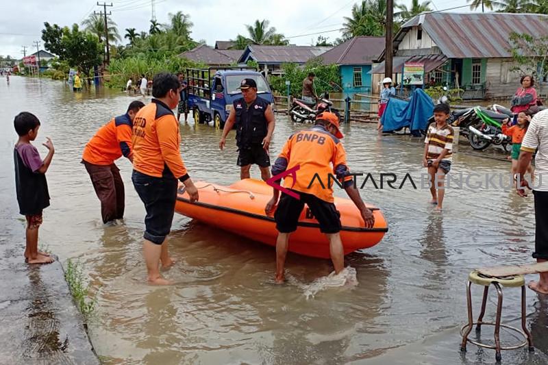 BPBD: Ribuan rumah terendam luapan sungai di Bengkulu