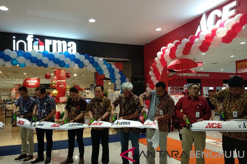 Informa dan Ace layani kebutuhan furniture dan gaya hidup warga Bengkulu