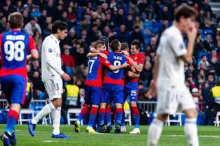 CSKA hajar Real Madrid 3-0 di Bernabeu