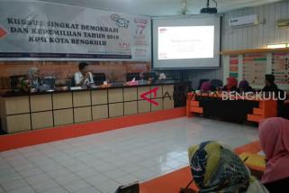 KPU Bengkulu gelar Kursus Demokrasi Pemilu 2019