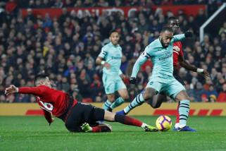 Manchester United tahan imbang Arsenal 2-2