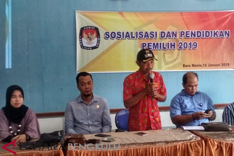 KPU: Pemilih di Lapas Curup 368 orang