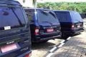 300 Kendaraan Dinas Bekasi Berplat Hitam