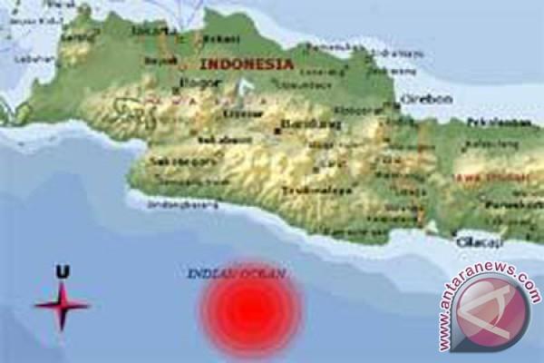 Basarnas Cabut Status Tsunami Di Jabar