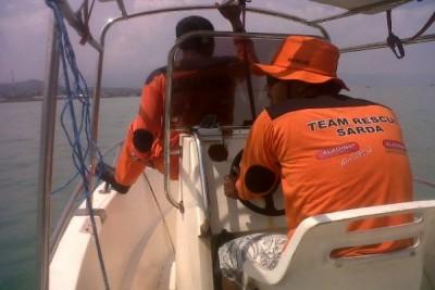 SAR Cari Pemancing Tenggelam Hingga Laut Lepas