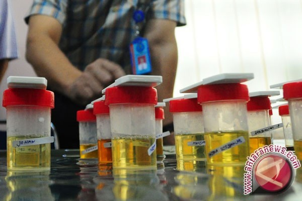 BNNK Sukabumi Periksa Urine Penyuluh Agama
