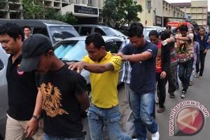 Polres Sukabumi Kota ciduk puluhan preman