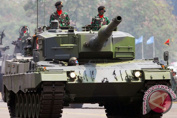Foto Tni Indonesia Tank Leopard Tni ad Foto