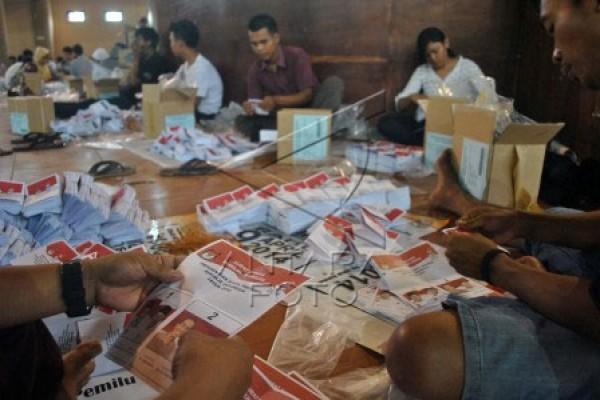 KPU Kota Bekasi butuh sepekan lipat surat suara