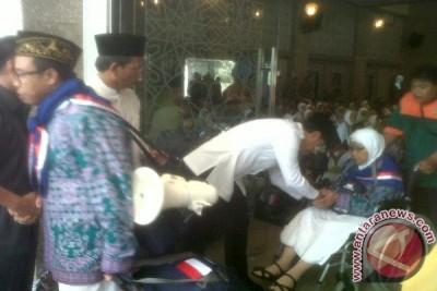 444 Calon Haji Kota Bogor Berangkat