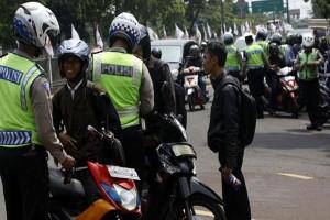 Polantas Bekasi Sita 1.469 STNK Sepekan Operasi