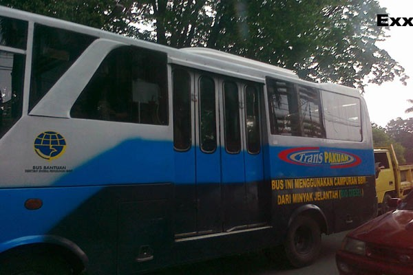 Asyik... Bus Transpakuan Kembali Beroperasi