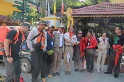 MER-C-WANADRI Sisir Lokasi Terparah Gempa Nepal