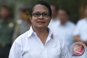Menteri Yohana Semangati Mahasiswa Papua Raih Cita-Cita