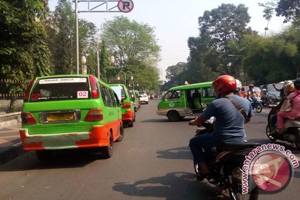 Program Rerouting Angkot Kota Bogor Dimulai