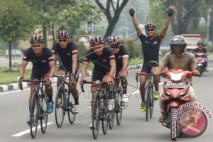 Gowes Pesona Nusantara Kemenpora Singgahi Kota Bogor