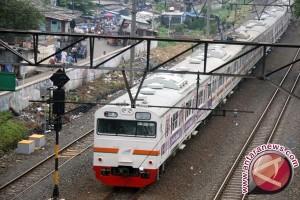 Perjalanan Kereta Stasiun Bogor Ditutup Akibat Longsor