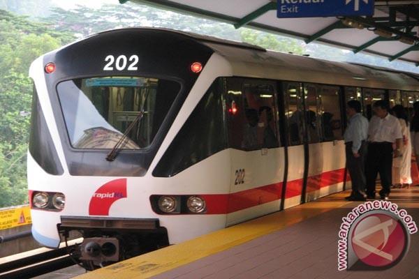 Uji coba LRT Jabodebek April 2019