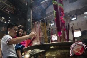 Warga Tionghoa Bogor Gelar Sembahyang Imlek