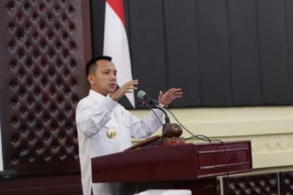 Gubernur Lampung M. Ridho Ficardo Memberikan Kuliah Umum Di Unila