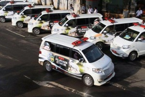 Pemkot Tangsel kirim 20 ambulance ke Subang