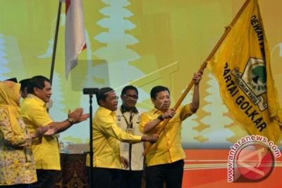 Aburizal Bakrie dan Setyo Novanto Bertemu Presiden Joko Widodo