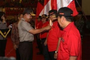 Kapolri Lantik Satgas Anti-Narkoba Provinsi Lampung