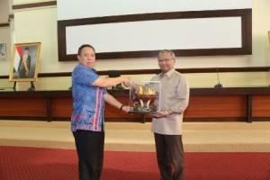 Wagub Lampung Kunjungan Kerja Ke Sulaswesi Selatan