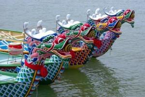 Perahu Naga terbalik membuat 17 orang tewas