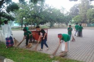 Pemkot Sukabumi Gelar Aksi Pungut Sampah