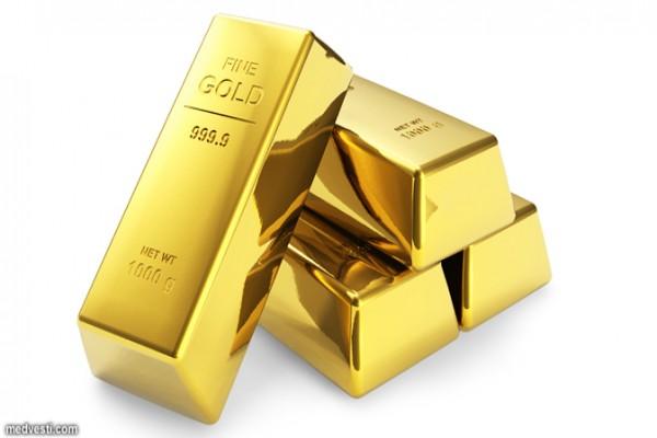 Harga emas turun lagi karena tertekan dolar