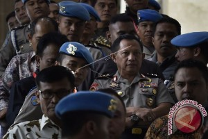 Banten Kirim Polisi Satu Kompi Jaga Jakarta