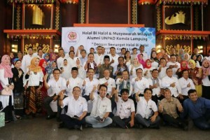 Halal Bihalal IKA UNPAD Di Lampung